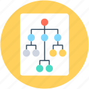 company team, hierarchy, sitemap, team, team hierarchy icon