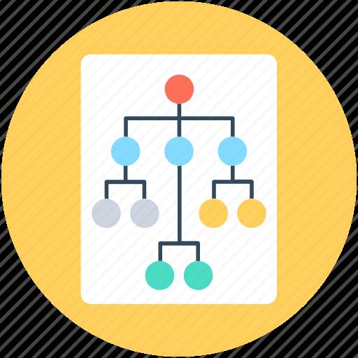 company team, hierarchy, sitemap, team, team hierarchy icon