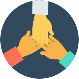 business, collaboration hands, companionship, cooperation, corporate icon