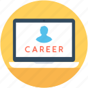 career, job, job selection, online job, vacant icon