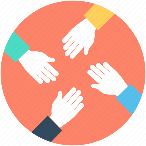 Collaboration Hands Icon | www.pixshark.com - Images ...
