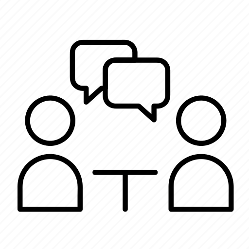 business, conference, group, meeting, people icon