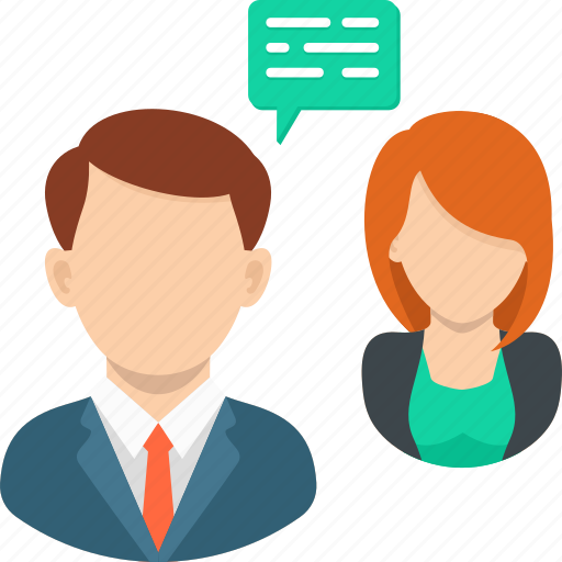business, business meeting, chat, job interview, recruitment, teamwork icon