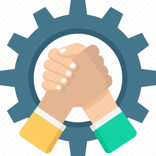 business, competition, cooperate, partnership, team, teamwork icon