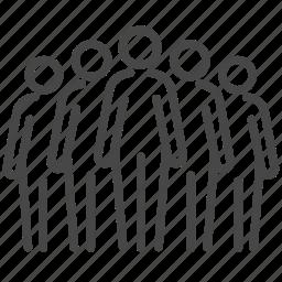 business, company, members, people, team, teamwork icon