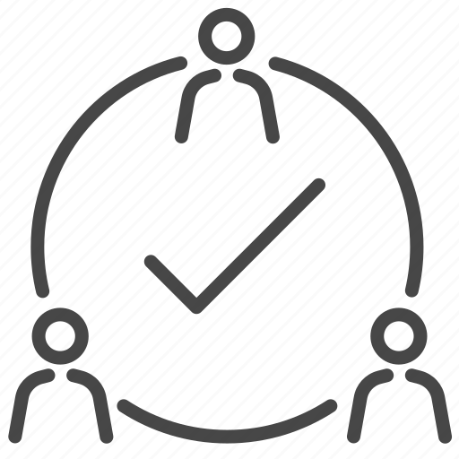 business, company, member, team, teamwork, unity icon