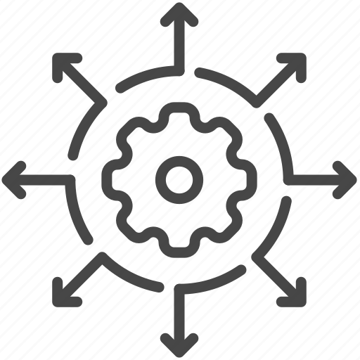 business, company, distribution, manage, teamwork icon