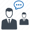 conversation, meeting, teamwork icon