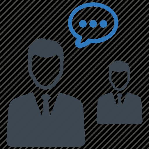 conversation, meeting, teamwork icon