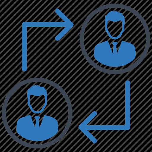 management, team, teamwork icon