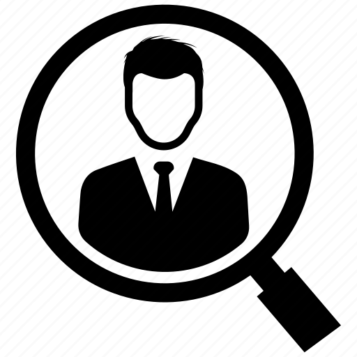 employee, job, search icon