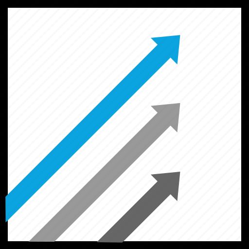 arrow, data, high, up icon