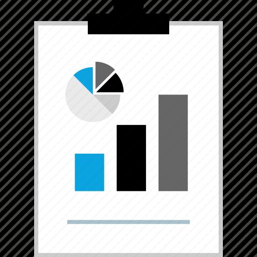 clipboard, data, seo, web icon