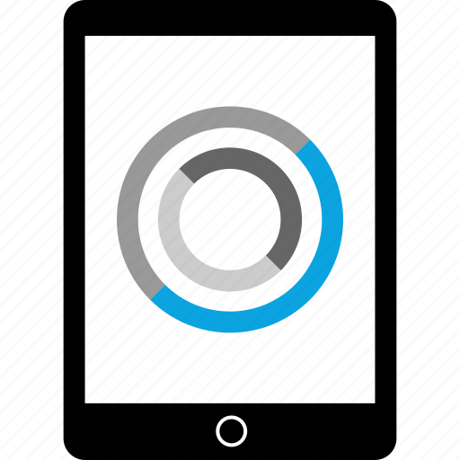 data, ipad, tablet icon