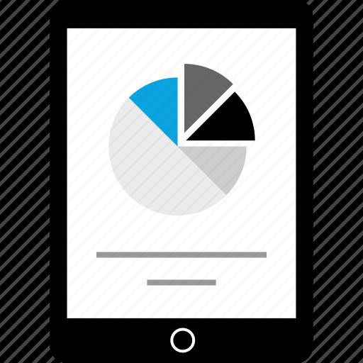 data, ipad, pad, tablet icon