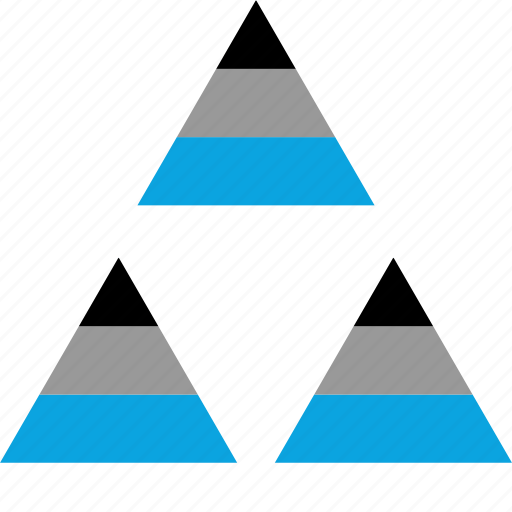dta, pyramid, triangles, web icon