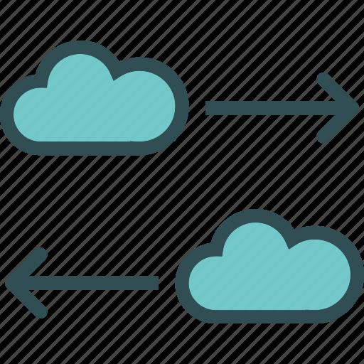 accesstransfer, cloud, online, upload icon