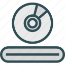 dvdplayer, mix, music, sound icon