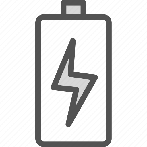 available, battery, charging, online, up icon