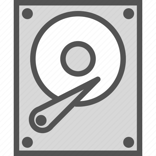 device, harddisk, hdd, memory, stock icon