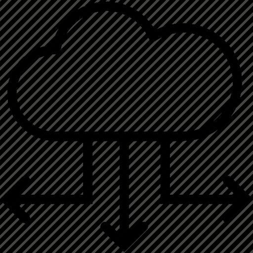 accessdistribution, cloud, online, upload icon