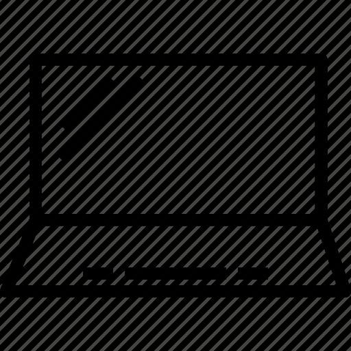 display, error, laptop icon