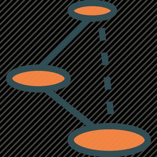 move, movement, points, shortcut icon