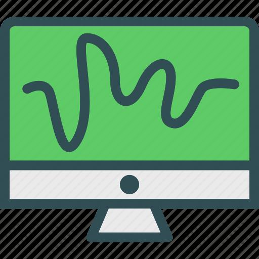 display, drawing, monitor, screen icon