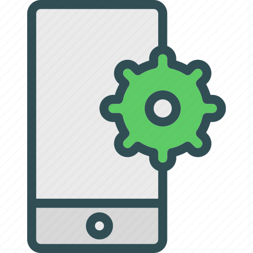 device, mobile, phone, settings, technology, user icon