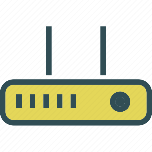 intranet, router, switch, wifi icon