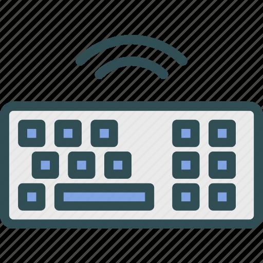 device, key, online, unlock, wifi, wire, wireless icon