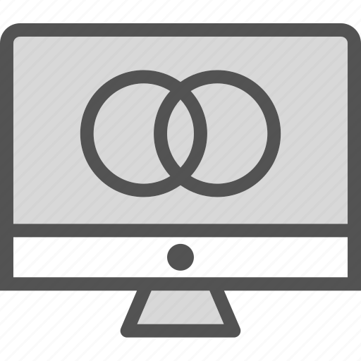 display, monitor, screen, settings, technology, user icon