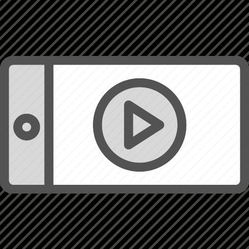 camera, devicevideo, film, mobile, phone icon