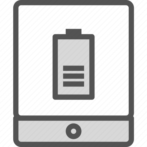 battery, display, ipad, online, tablet, touchscreen, up icon