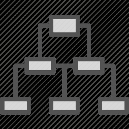 intranet, lan, network, web icon