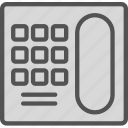 device, mobile, old, phone icon