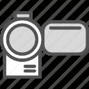 camera, film, video