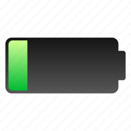 battery, low, low battery icon