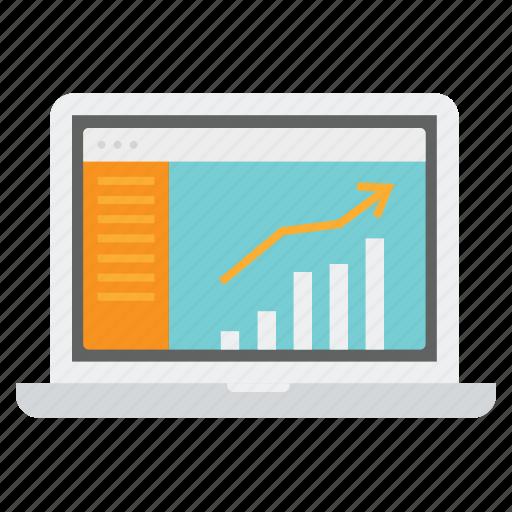 business, growing, growth, profit, progress, sales icon