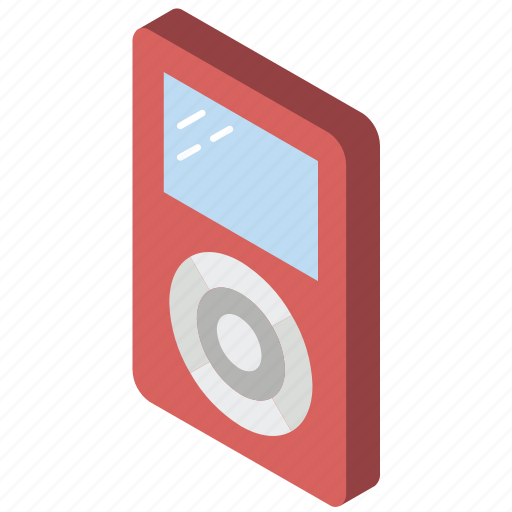 Ipod, iso, isometric, tech, technology icon - Download on Iconfinder