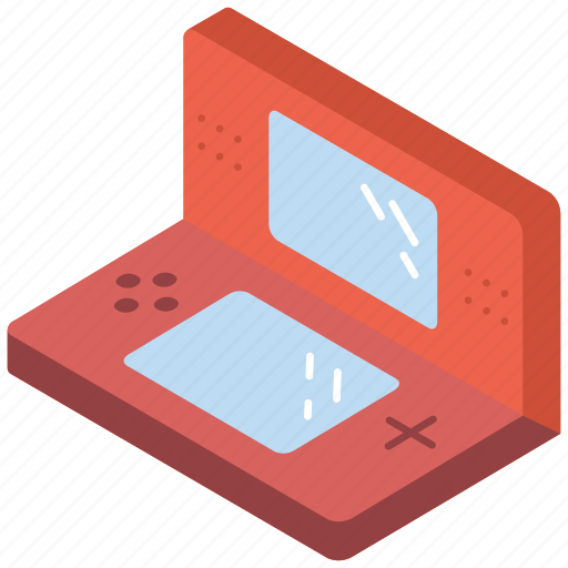 Game, hand, held, iso, isometric, tech, technology icon - Download on Iconfinder