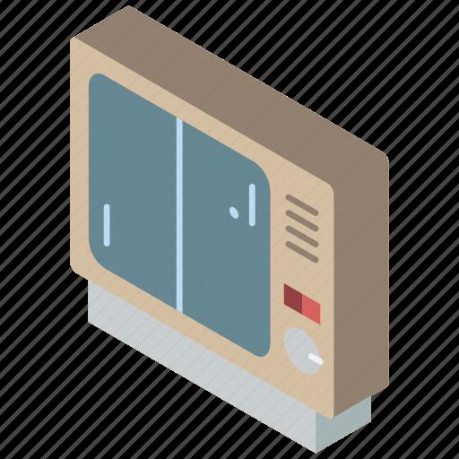 game, iso, isometric, retro, tech, technology icon