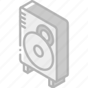 iso, isometric, speaker, tech, technology