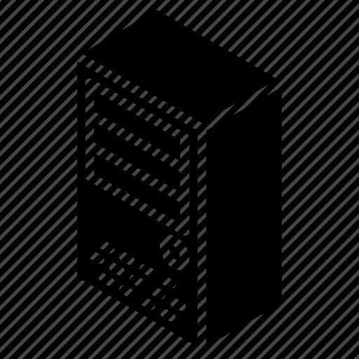 desktop, iso, isometric, pc, tech, technology icon