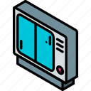 game, iso, isometric, retro, tech, technology icon