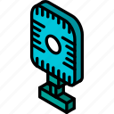 iso, isometric, microphone, tech, technology icon