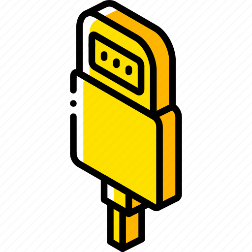 connection, iso, isometric, lighting, tech, technology icon
