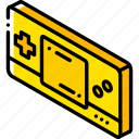 game, handheld, iso, isometric, tech, technology icon