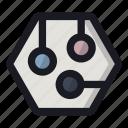 card, chip, it, scheme, structure icon
