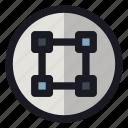 card, chip, it, scheme, system icon